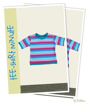 b04071a7f921 Retrouvez gratuitement le patron du tee-shirt minute à télécharger sur la  boutique des Moutons de Kallou !
