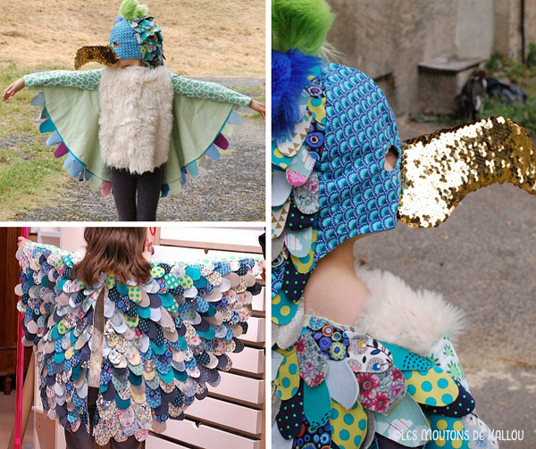 Un Costume D Oiseau Qui Donne Des Ailes Les Moutons De Kallou